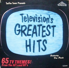 Television s greatest Hits original soundtrack