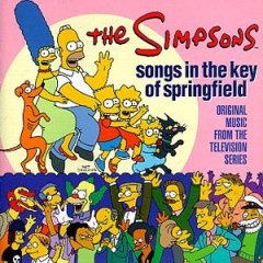The Simpsons: Songs in the key of Springfield original soundtrack
