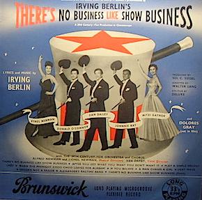 There's no Business like Show Business original soundtrack