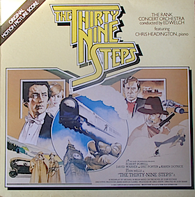 Thirty Nine Steps original soundtrack