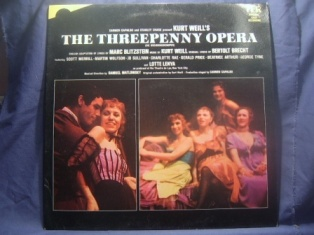 Threepenny Opera: original cast recording original soundtrack