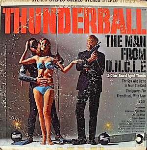 Thunderball & other secret agent themes original soundtrack