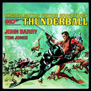 Thunderball original soundtrack