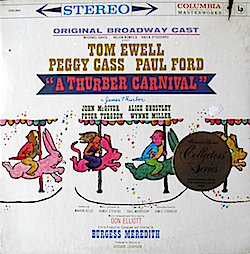 Thurber Carnival: Broadway Cast original soundtrack
