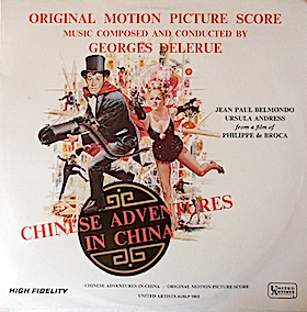 Tribulations D'Un Chinois En Chine original soundtrack