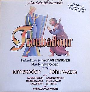 Troubadour: London Cast original soundtrack