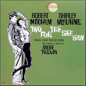 Two for the Seesaw original soundtrack