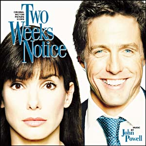 Two Weeks Notice original soundtrack
