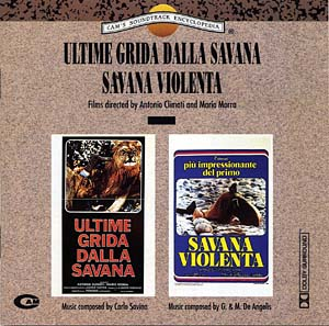 Ultime Grida Dalla Savana & Savana Violenta original soundtrack
