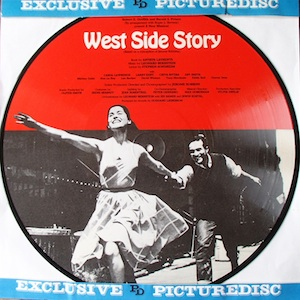 West Side Story: Broadway cast Picture Disc original soundtrack