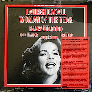 Woman of the Year: original broadway cast original soundtrack