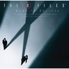 X Files: I Want to Believe original soundtrack