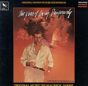Year of Living Dangerously original soundtrack