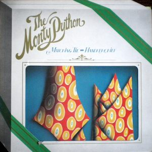 Monty Python Matching Tie and Handkerchief original soundtrack