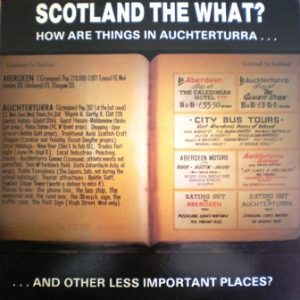 Scotland the What? Achterturra original soundtrack