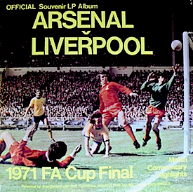 1971 FA Cup Final Arsenal vs Liverpool: original soundtrack