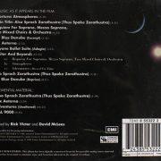 2001 Turner EMI 7243 8 55322 2 back
