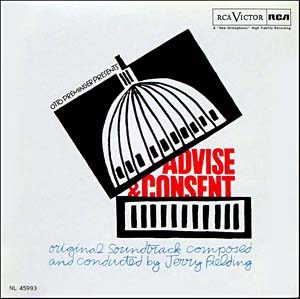 Advise & Consent original soundtrack