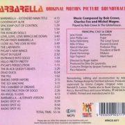 Barbarella back