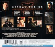 Batman Begins- Music From The Motion Picture back