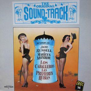 Gentlemen Prefer Blondes original soundtrack