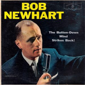 Button-down Mind Strikes Back! Bob Newhart original soundtrack