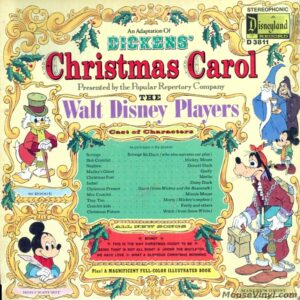 Walt Disney Productions Presents An Adaption Of Dickens Christmas Carol