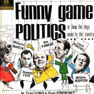 Funny Game, Politics Label: Parlophone – PCS 3056