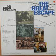 La Gran Evasion (The Great Escape) Banda Sonora Original De La Película back