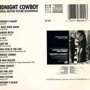 Midnight Cowboy - Original Motion Picture Soundtrack back
