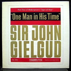Sir John Gielgud reads Shakespeare