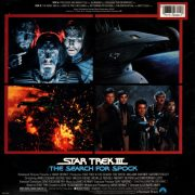 Star Trek III- The Search For Spock (Original Motion Picture Soundtrack) back