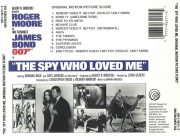 The Spy Who Loved Me (Original Motion Picture Score) back