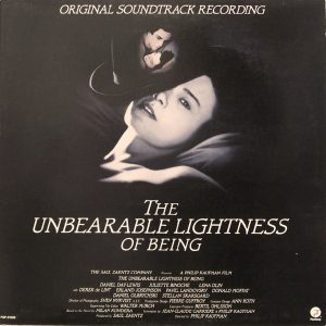 Unbearable Lightness of Being original soundtrack