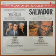 Wall Street Salvador Original Motion Picture Soundtracks back