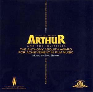 Arthur and the Invisibles original soundtrack