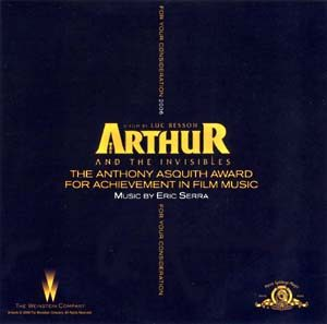 Arthur and the Invisibles original soundtrack