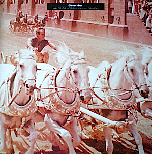 Ben Hur original soundtrack