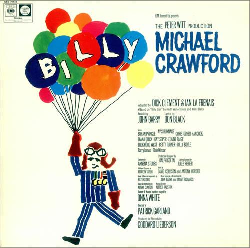 Billy: original cast recording original soundtrack