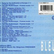 bleu back