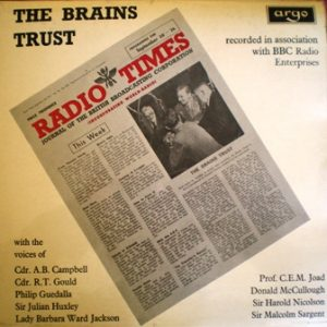 Brains Trust original soundtrack