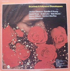 Broadway and Hollywood Showstoppers original soundtrack