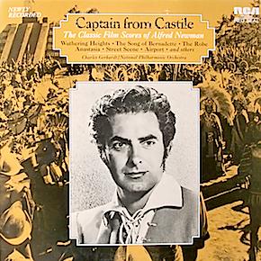 Captain from Castile: classic film scores of alfred newman original soundtrack