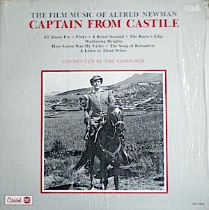 Captain From Castile original soundtrack