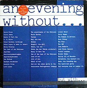 Evening Without... but with... original soundtrack
