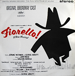 Fiorello: Broadway Cast original soundtrack