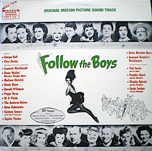 Follow the Boys original soundtrack