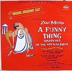 Funny Thing Happened on the Way to the Forum: Broadway Cast original soundtrack