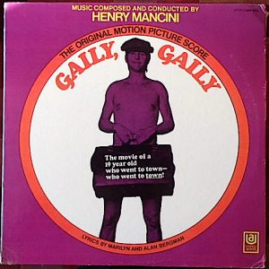 Gaily, Gaily original soundtrack