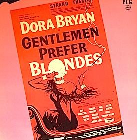Gentlemen Prefer Blondes: 1962 London Cast original soundtrack